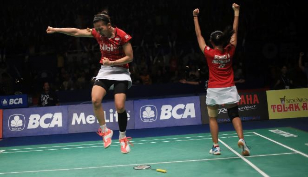 Indonesia Borong Juara Singapore Open 2016