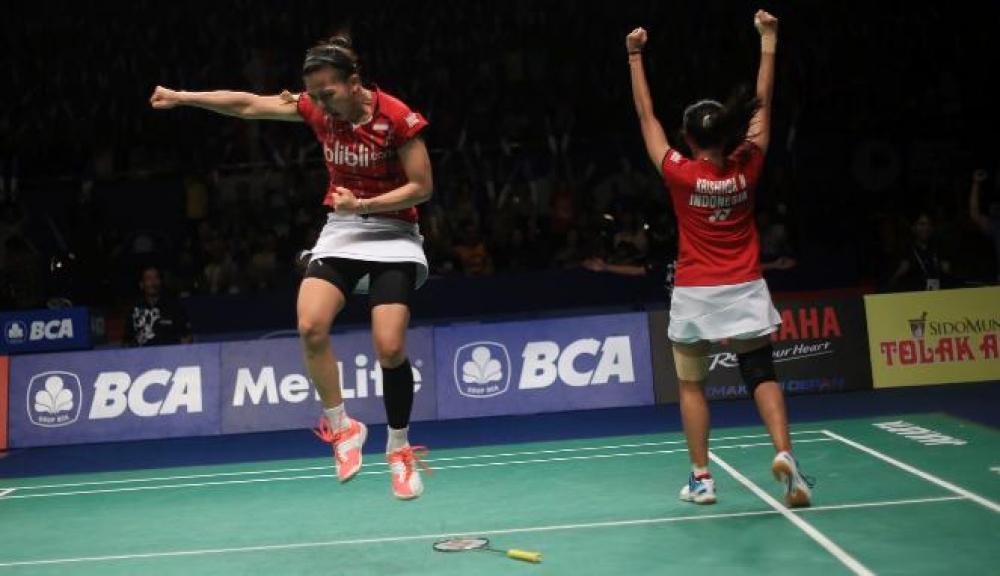 Indonesia Borong Juara Singapore Open 2016