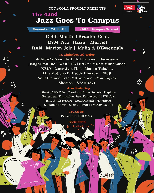 Feel the New Jazzperience bersama Jazz Goes To Campus!