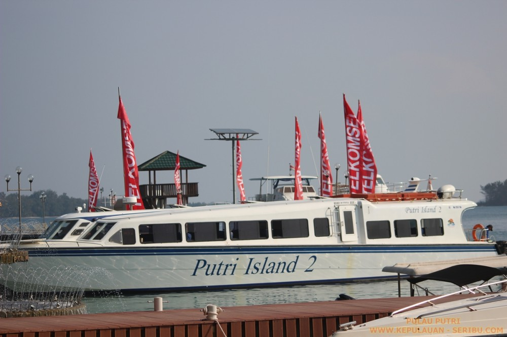 Pulau Putri Mempunyai Fasilitas Yang Memadai