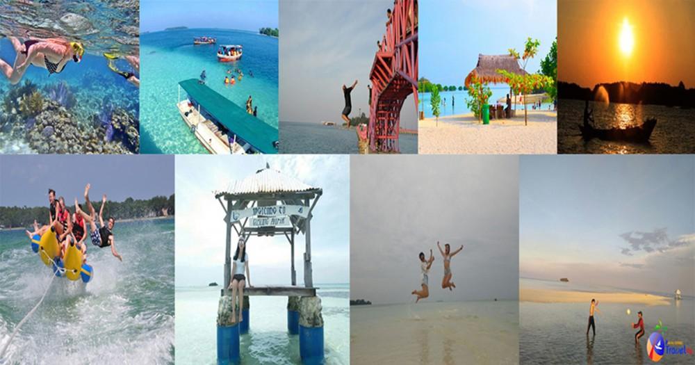 Paket One Day Tour Kepulauan Seribu