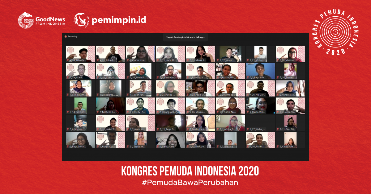 Merangkai Gagasan Membangun Harapan Melalui Kongres Pemuda Indonesia 2020