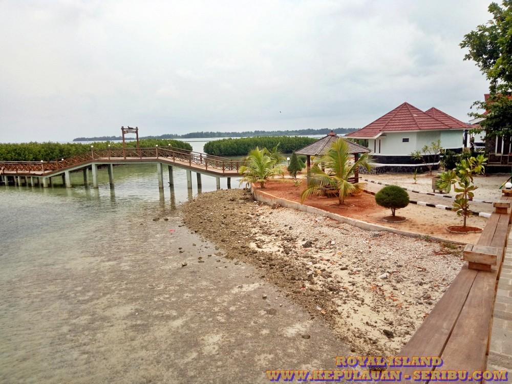 Royal Island Pulau Kelapa   Wisata Semi Resort Di Kepulauan Seribu Jakarta