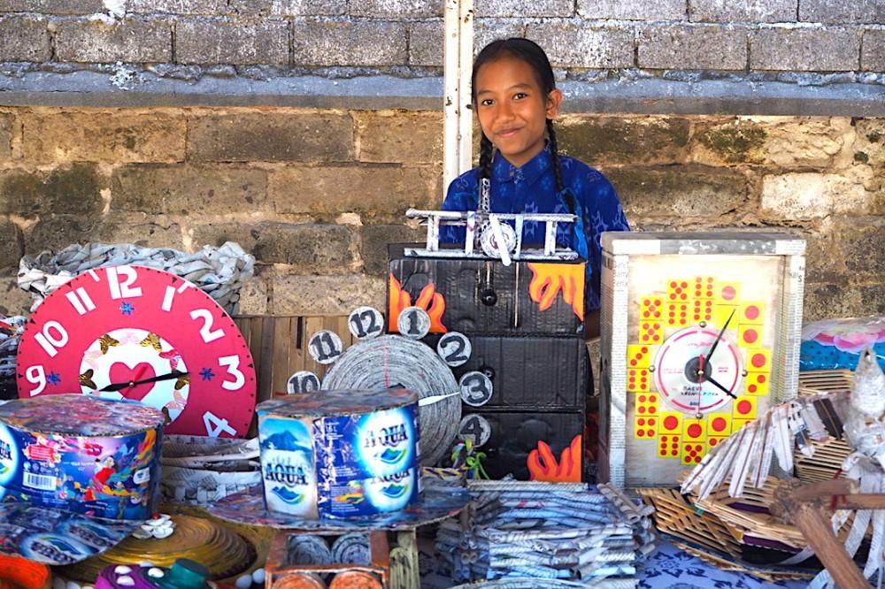 Belajar Mengelola Sampah menjadi Berkah di SMP Wisata Sanur