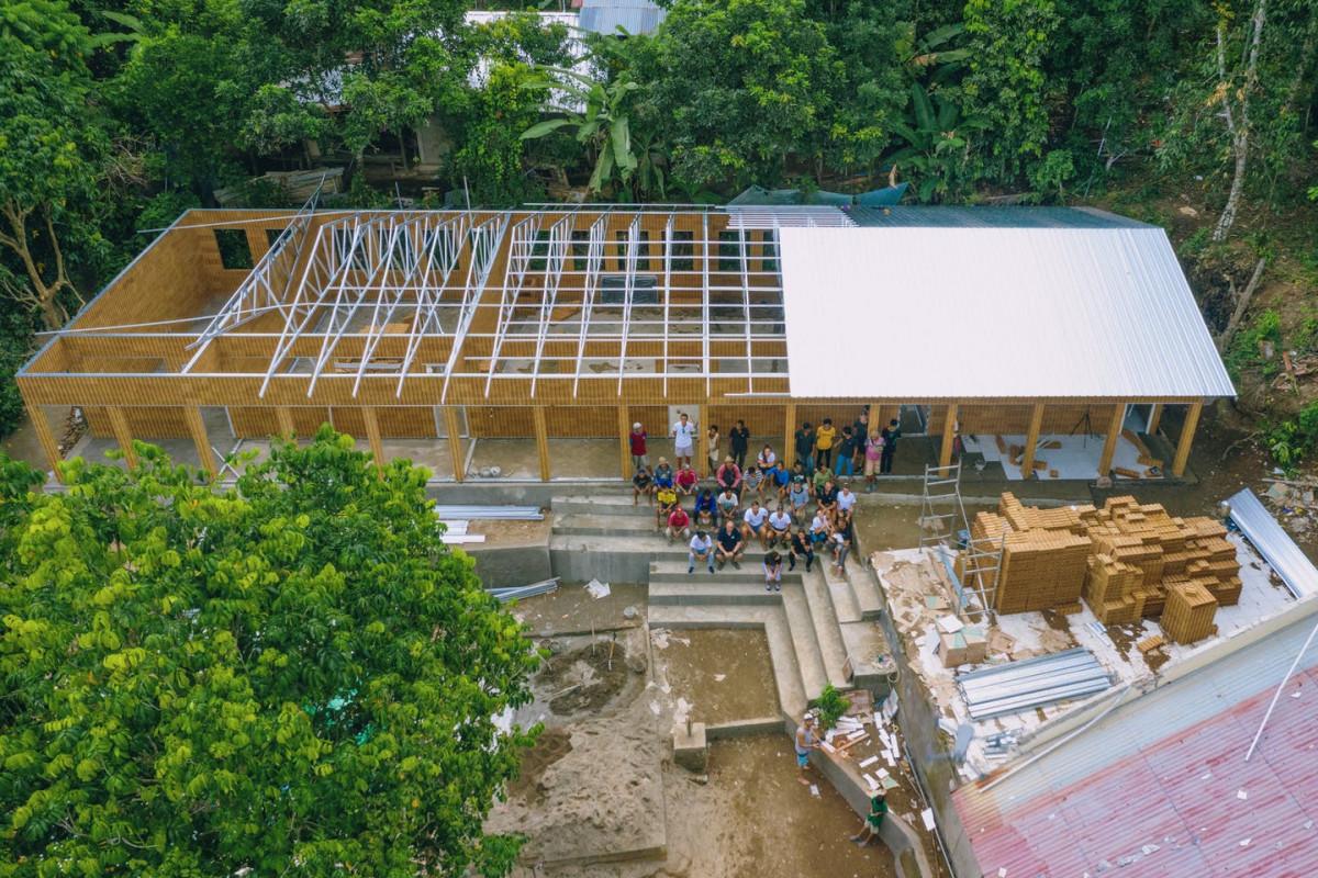 SD di Lombok Barat Jadi Sekolah Pertama yang Dibangun dari Bata Sampah Plastik