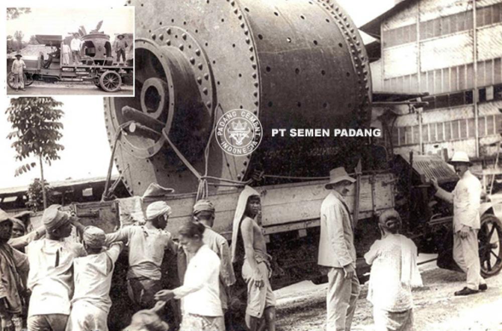 Semen Padang : Sejarah Perjalanan Pabrik Semen Tertua di Indonesia