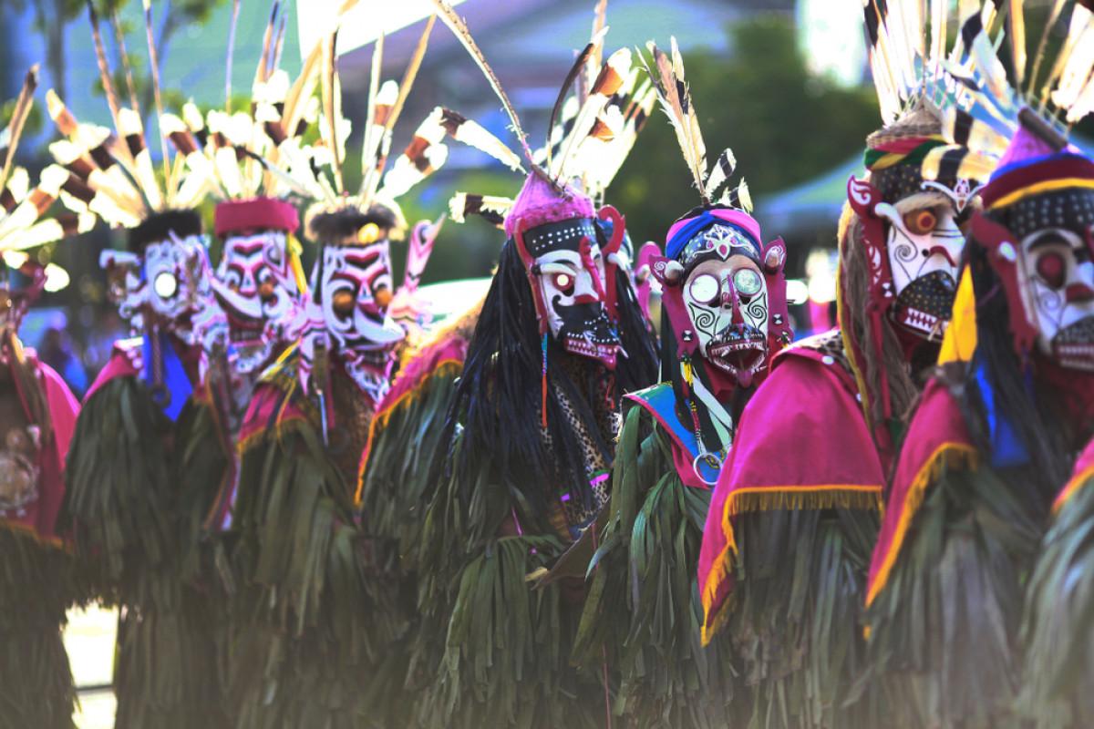 Tari Hudoq, Tradisi Suku Dayak Meminta dan Mensyukuri Hasil Panen Melimpah