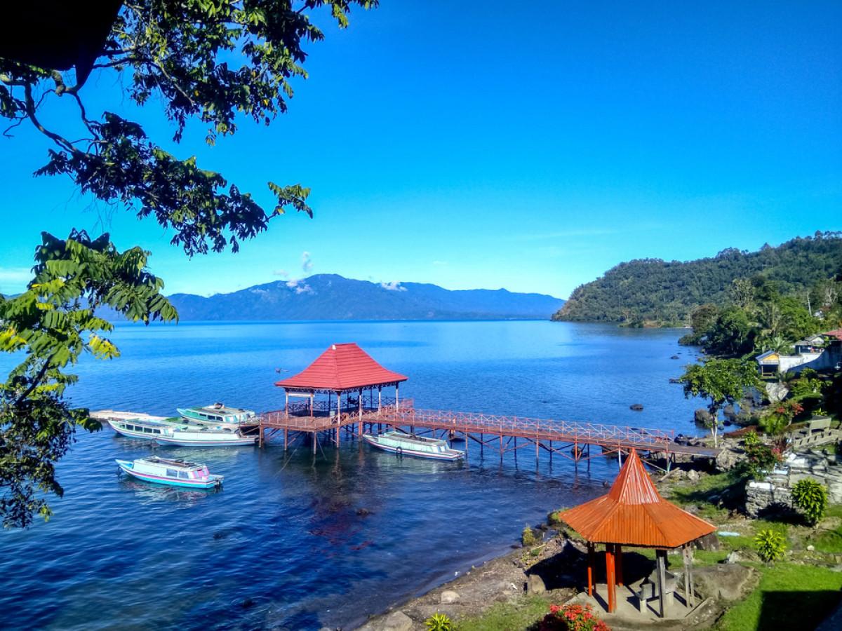 Pesona Danau Ranau, Danau Kedua Terbesar di Sumatra Setelah Danau Toba
