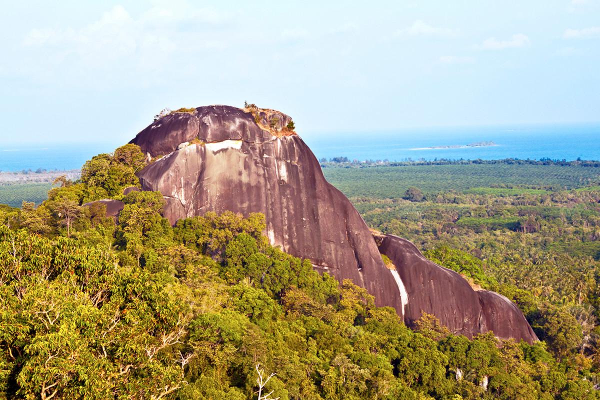 Bukit Baginde, Granit Raksasa di Belitung dari Zaman Dinosaurus