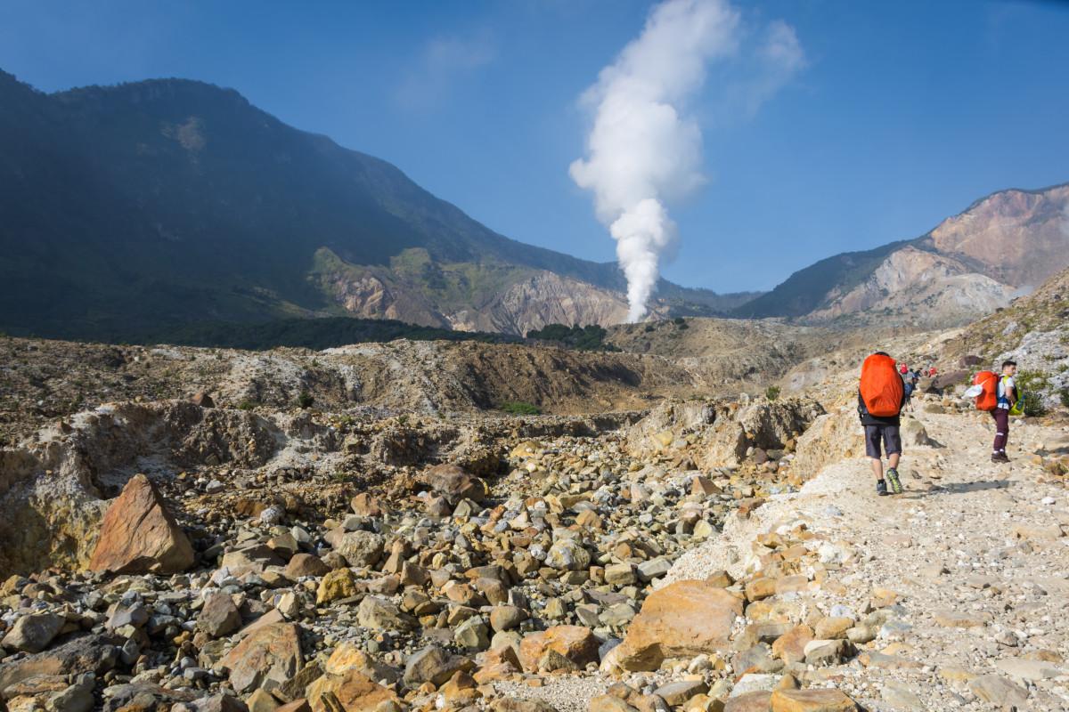 Gunung Papandayan, Kerentanan Sampah dari Pendaki dan Gerakan Zero Waste