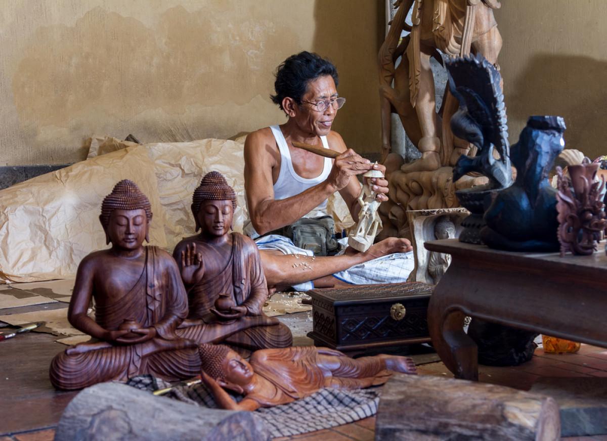 Pelesiran ke Desa Mas di Ubud, Kampungnya Para Seniman Bali