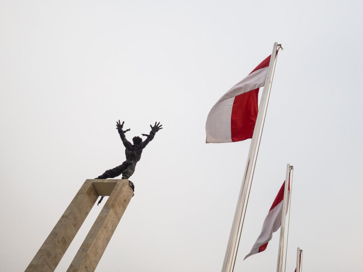 Sejarah Hari Ini (16 April 1916) - Mayor Dimara, Inspirator Patung Pembebasan Irian Barat