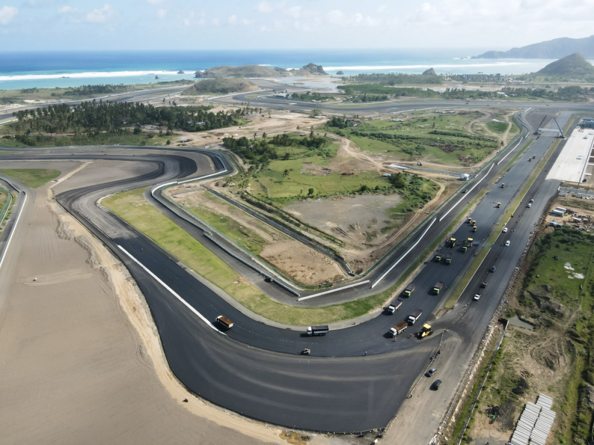 Sirkuit Mandalika Terpilih Jadi Lokasi Tes Pramusim MotoGP 2022