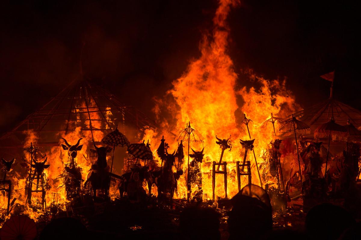 Upacara Ngaben, Pembakaran Jenazah Sebagai Jalan Menuju Nirwana