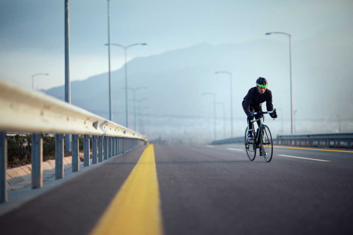 Ketika Sepeda 'Road Bike' Boleh Melintas di Jalan Layang Setinggi 18 Meter