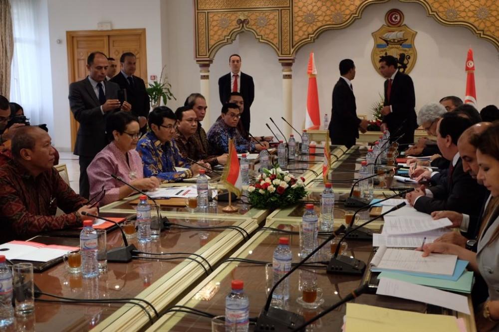 Kerja sama Ekonomi, Kontraterorisme, hingga Demokrasi, Hubungan Bilateral Indonesia Tunisia Bakal Semakin Erat