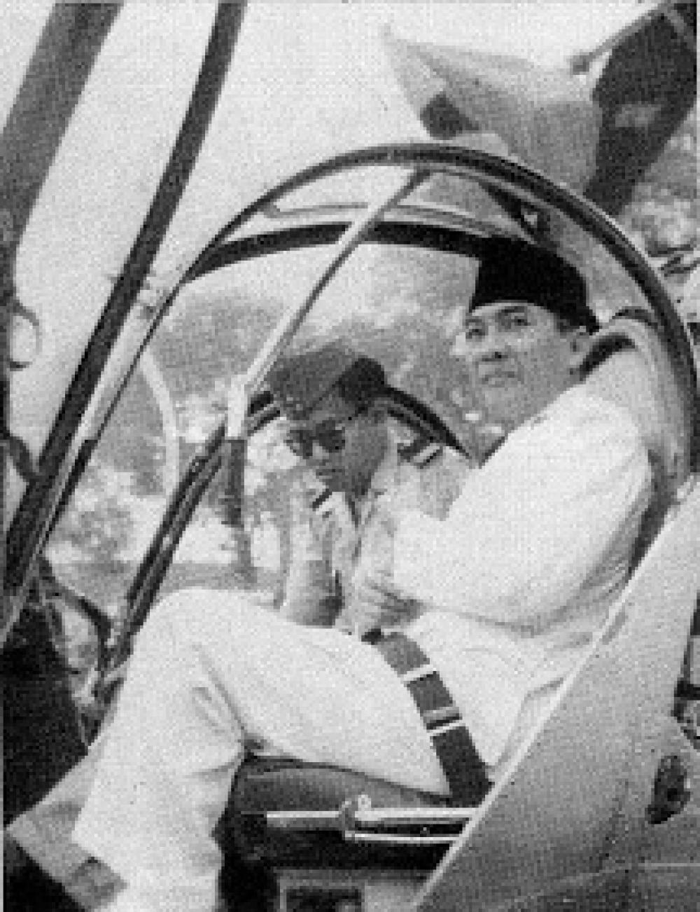 Siapa Presiden Pertama di Dunia yang Punya Helikopter Kepresidenan?