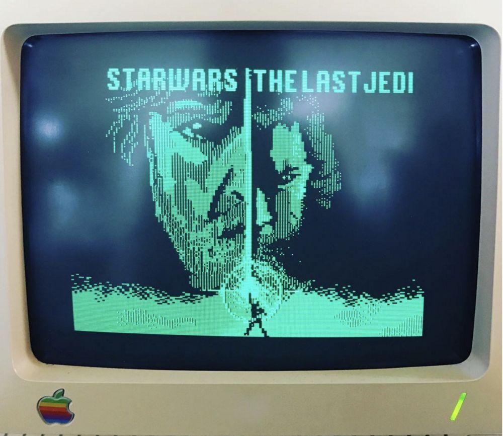 Animator Indonesia Buat Trailer 'Star Wars' dengan Komputer Apple Keluaran 1984!