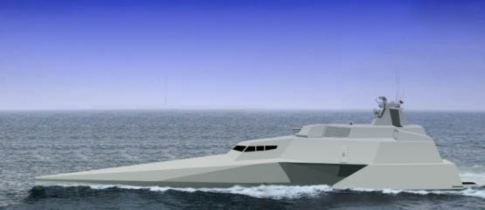 Stealth Patrol Boat, Made in Indonesia