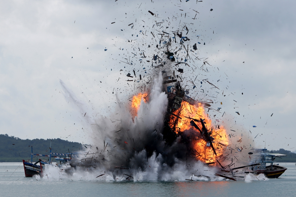 Usai Lebaran, Indonesia Siap Tenggelamkan Lagi 30 Kapal