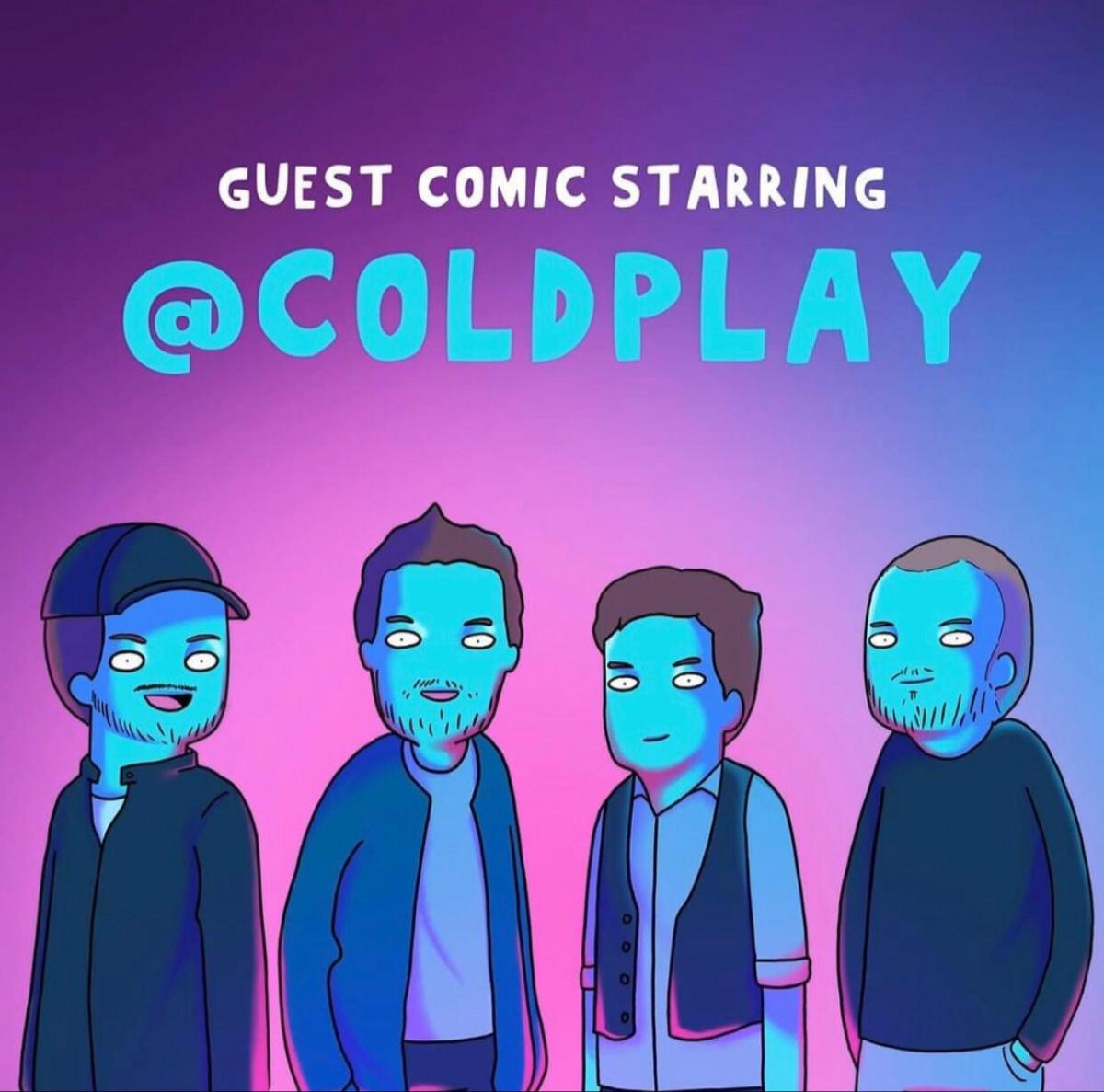 Tahilalats, Kreator Komik Strip Indonesia yang Kolaborasi dengan Coldplay
