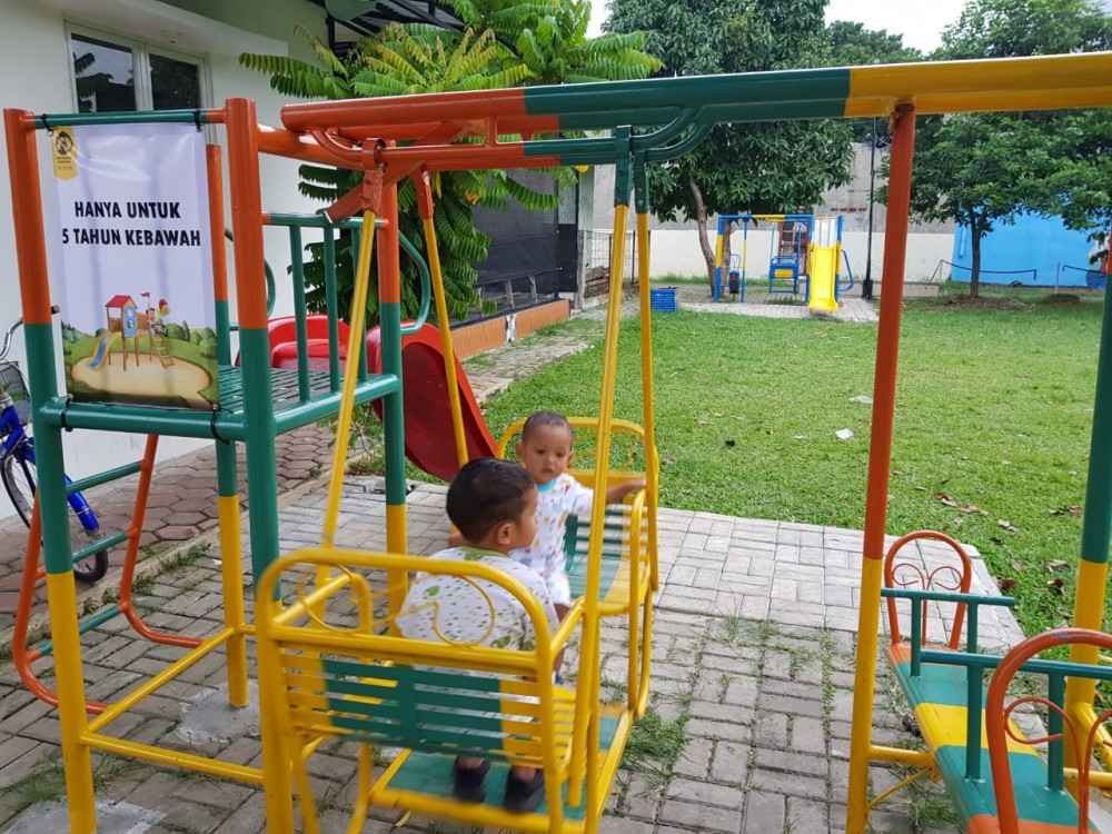 Integrasi Taman dan Perpustakaan di Kelurahan Tanah Baru Depok
