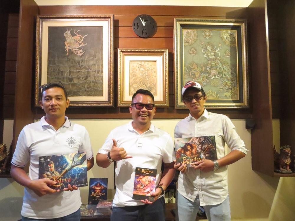 Tantraz Kenalkan Budaya Indonesia Pada Dunia Lewat Komik