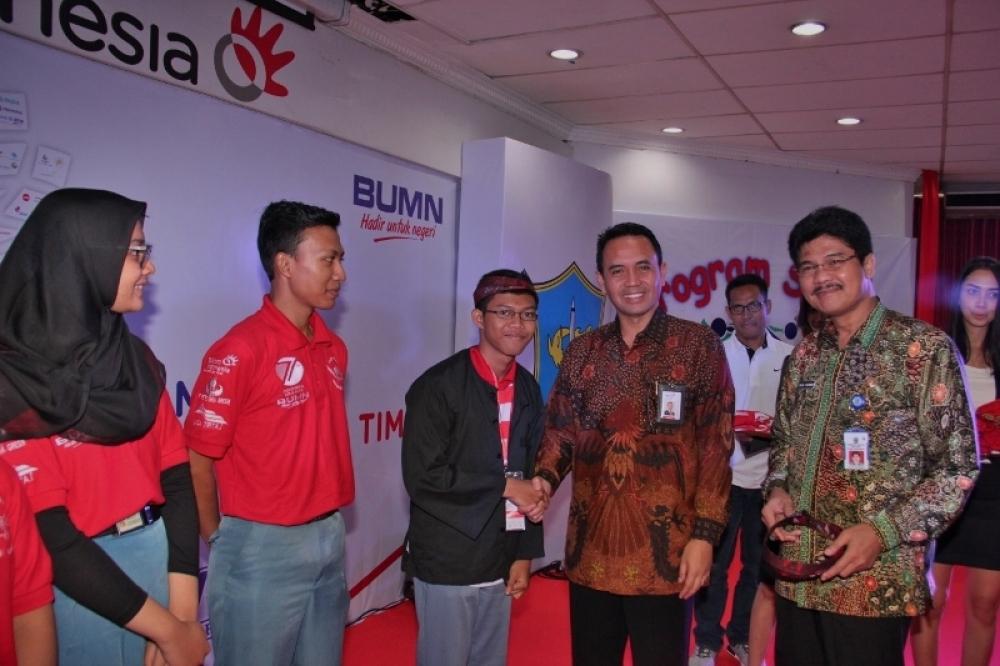 Telkom Dampingi Siswa untuk Mengenal Nusantara