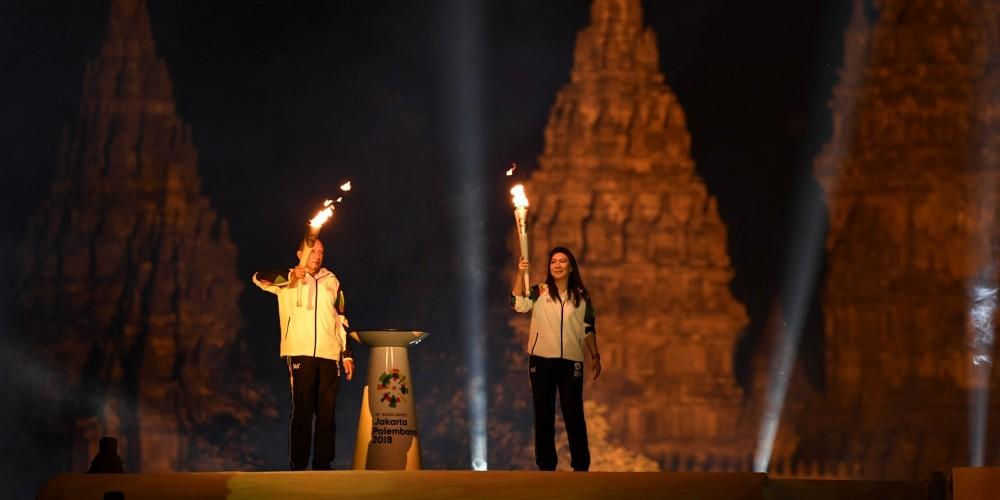 Torch Relay Asian Games 2018, Jadikan Promosi Wisata Indonesia.