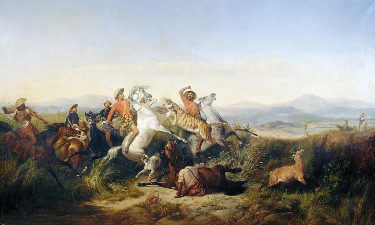 Kisah dan Makna di Balik 5 Lukisan Raden Saleh yang Mendunia