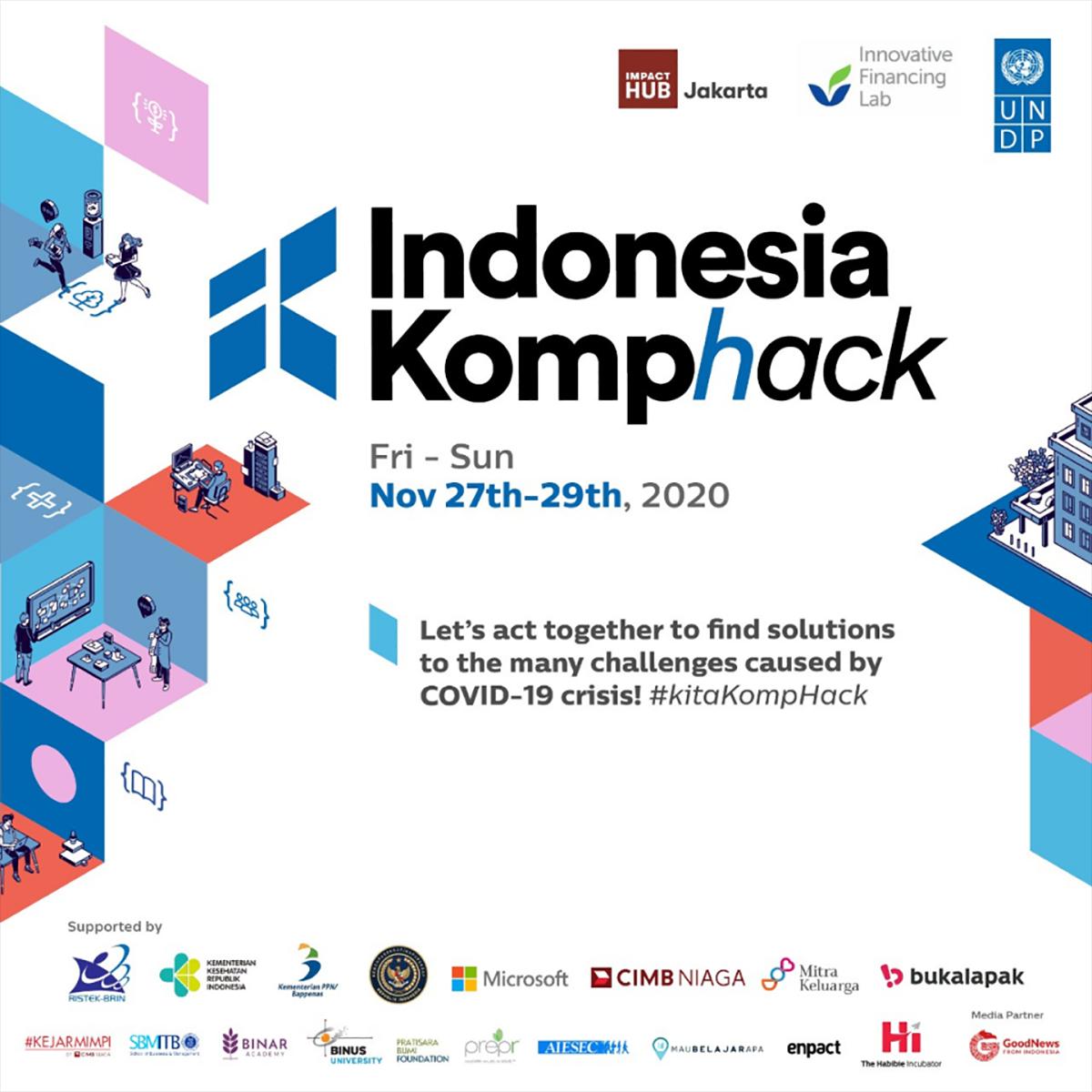 Indonesia Komphack, Lahirkan Inovator Andal di Tengah Pandemi