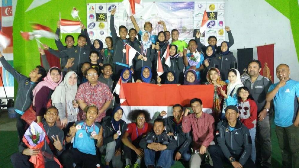 Timnas Panjat Tebing Indonesia Jadi Juara 2 di Asia!