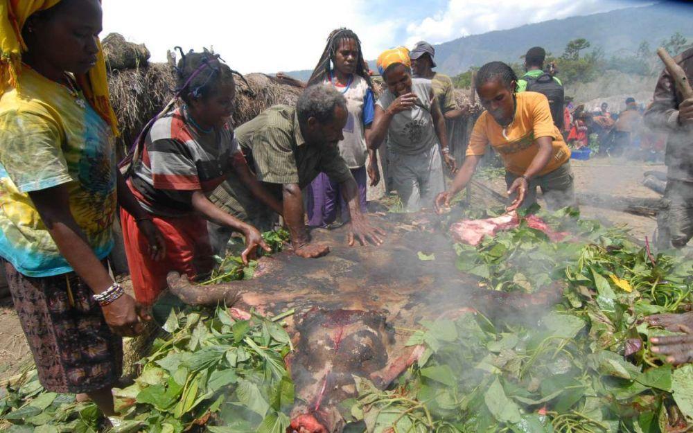 Begini Cara Masyarakat Papua Menghargai Tamu