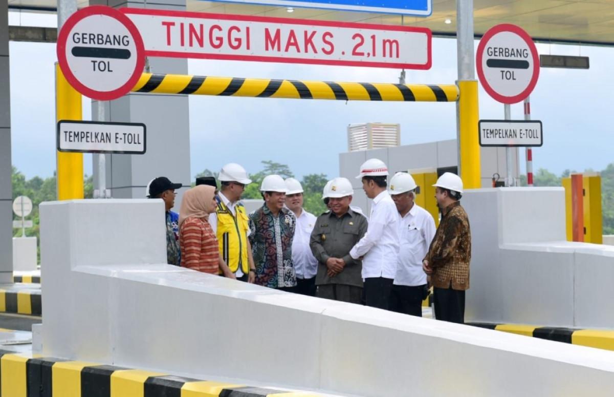 Tol Pertama di Kalimantan Diresmikan Secara Penuh, Jadi Harapan Baru Gerak Perekonomian
