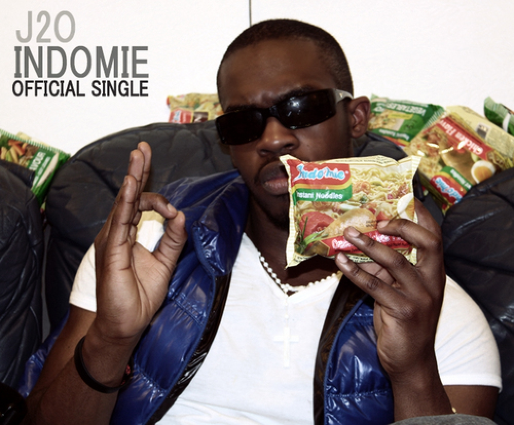 UK Rapper Performing Indomie on YouTube