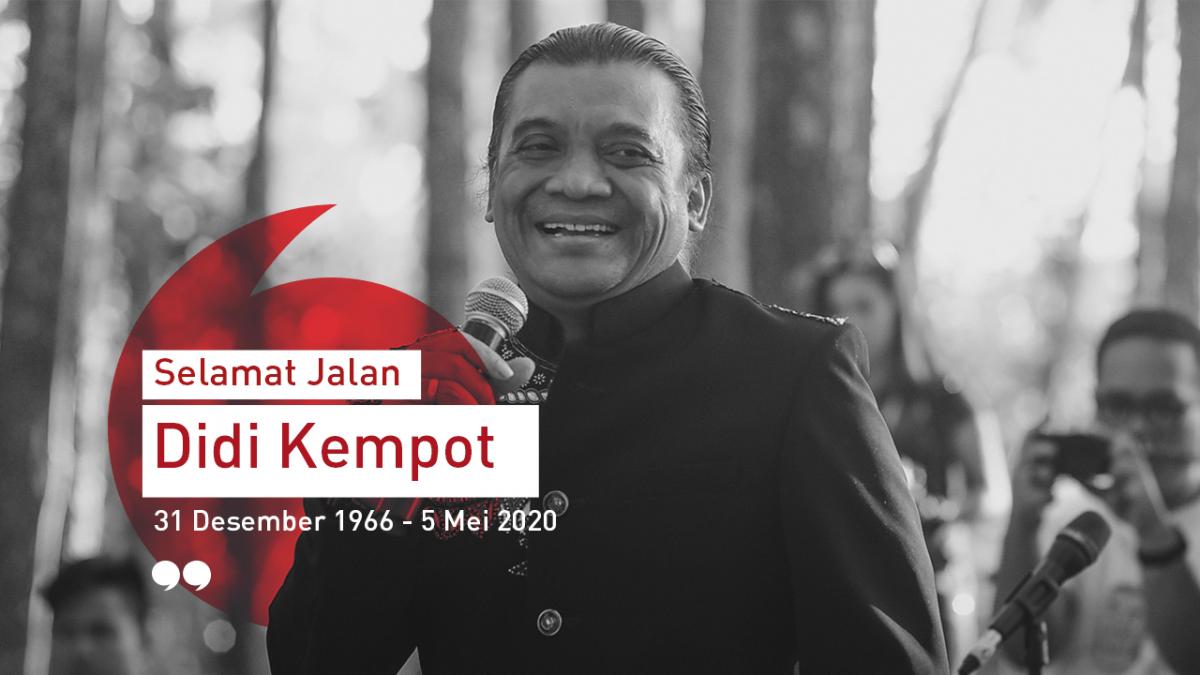 Sugeng Tindak Maestro Campur Sari, Selamat Jalan Didi Kempot