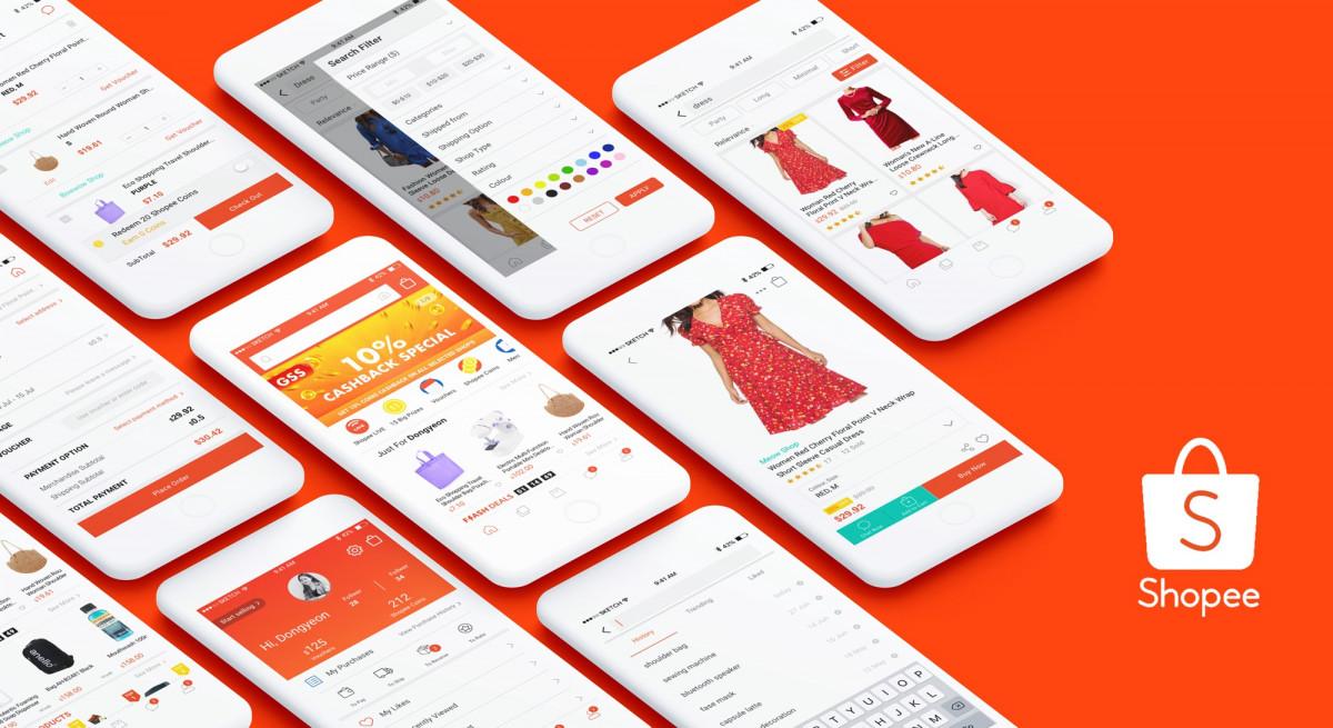 Shopee dan Tokopedia Jadi E-Commerce dengan Kunjungan Tertinggi Sepanjang 2020