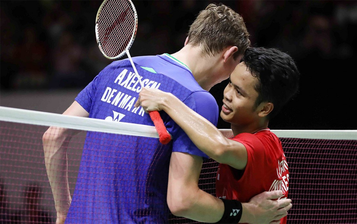 Anthony Ginting Tantang Viktor Axelsen di Semifinal Thailand Open 2021
