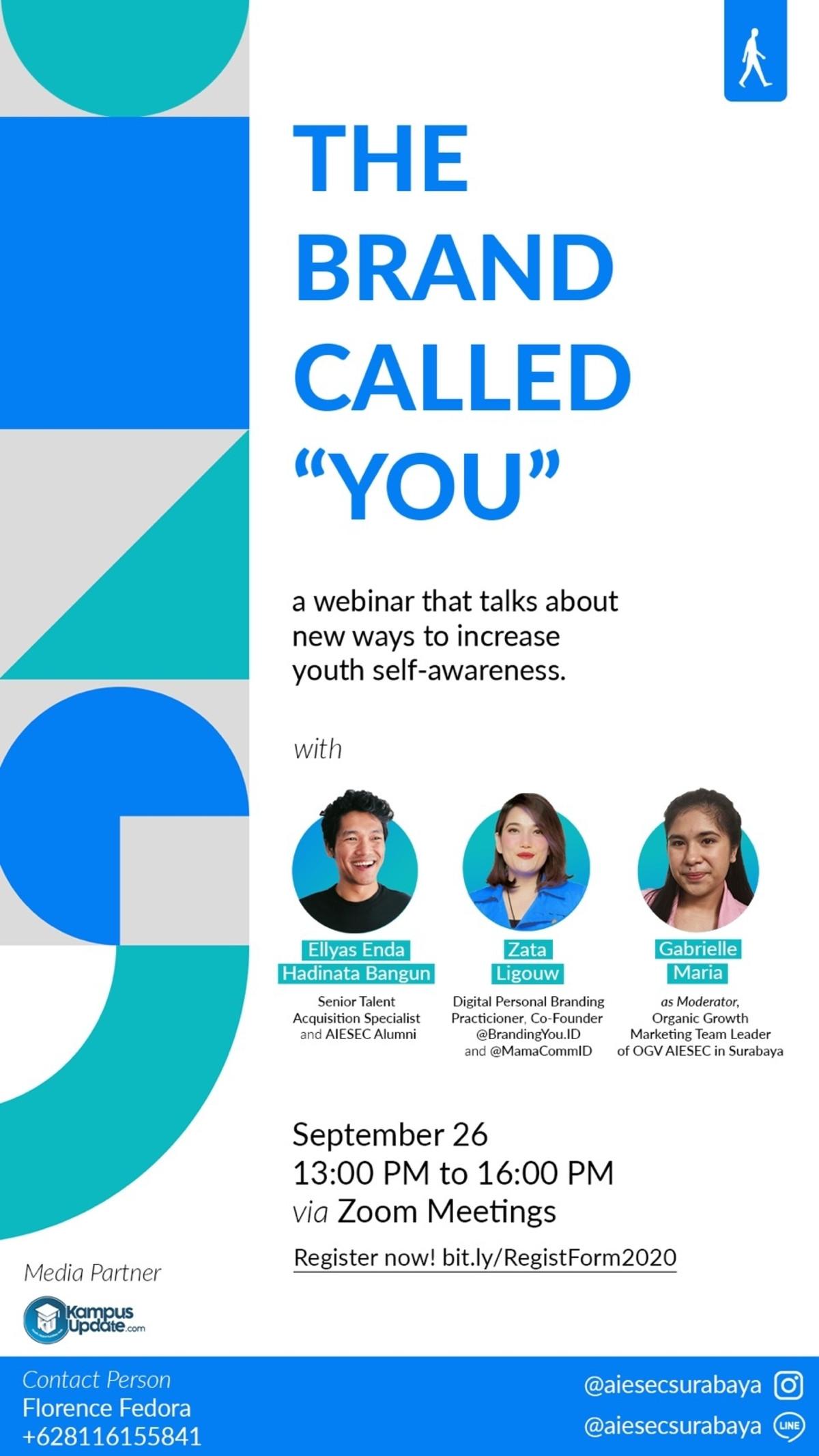 The Brand Called You, Dukungan AIESEC Surabaya untuk Membangun Personal Branding
