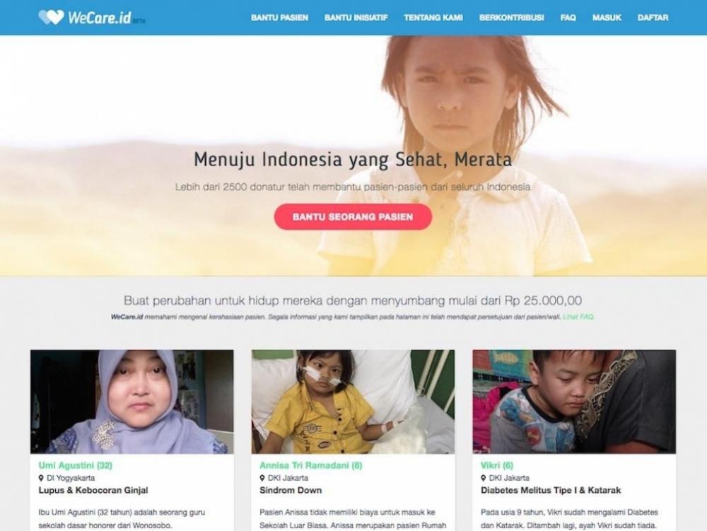 Vote WeCare.id, Wakil Indonesia di Bayer Aspirin Social Innovation Award!