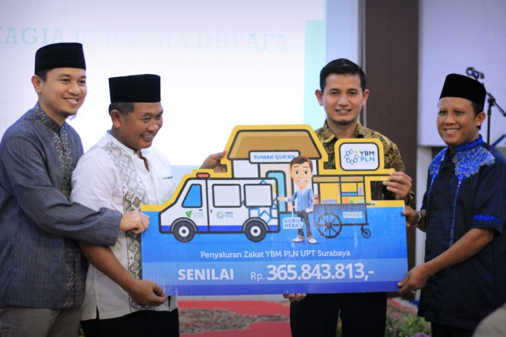 YBM PLN Jalin Kerja Sama dengan Dompet Dhuafa Jawa Timur