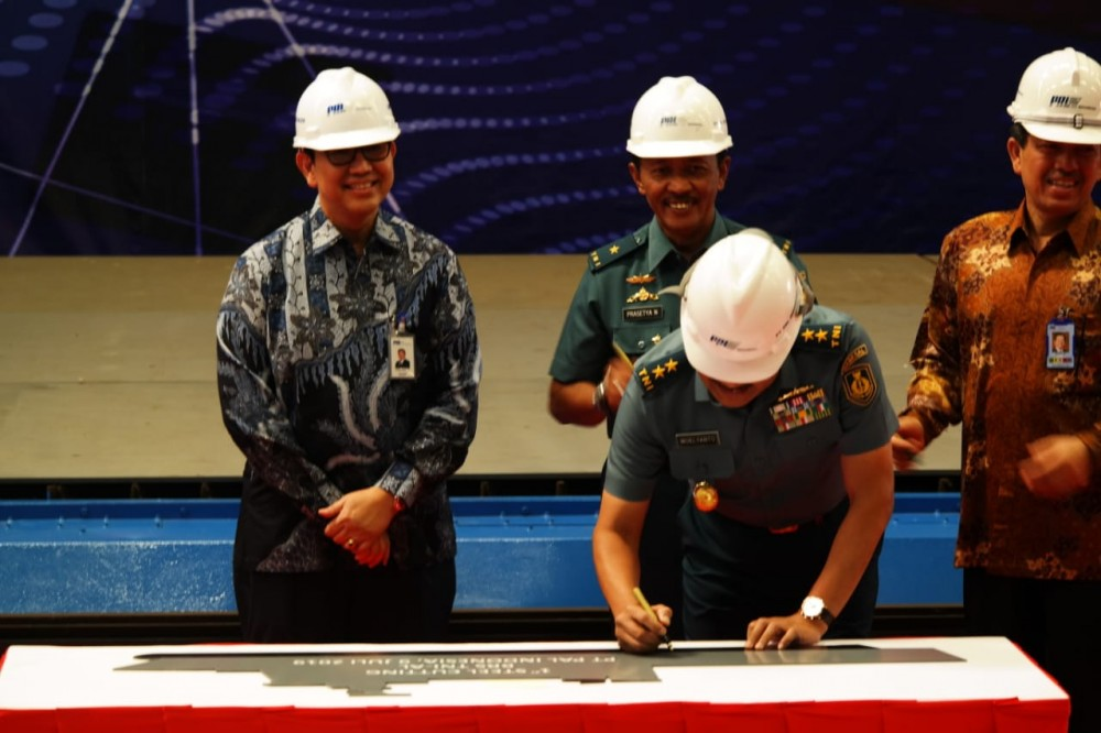 PT PAL Indonesia Bangun Rumah Sakit Terapung Milik TNI-AL