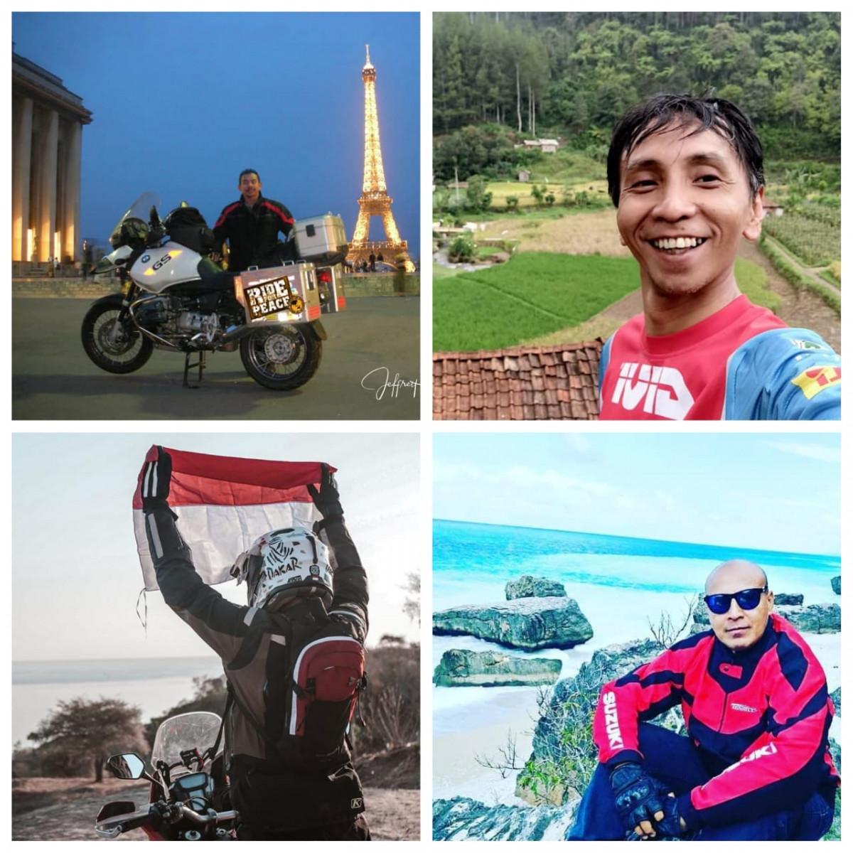 Berkelana dengan Motor, Mereka Tak Lelah Menyuarakan Keindahan Indonesia