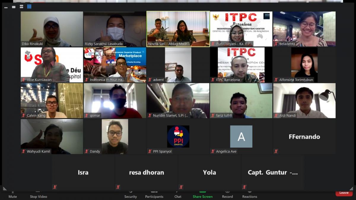 Peningkatan Pengusaha Diaspora Indonesia di Spanyol