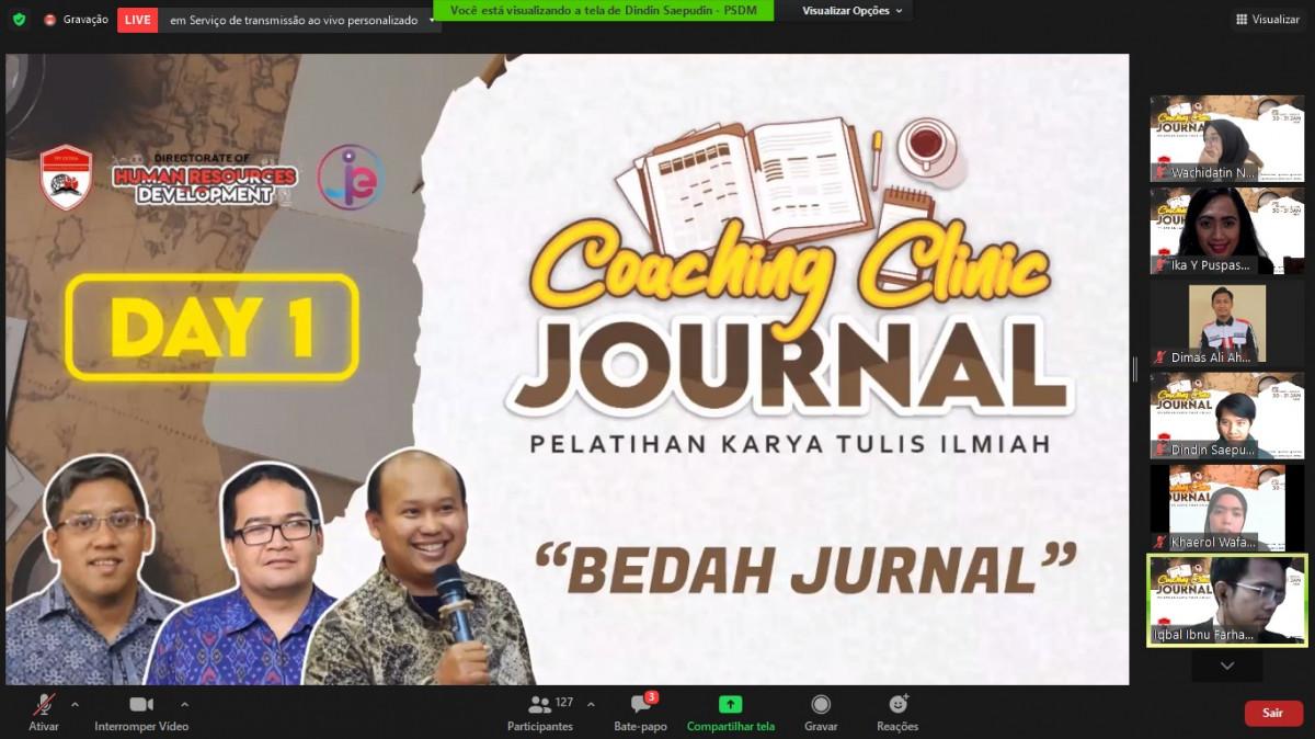 Pelatihan Coaching Clinic Journal PPI Dunia