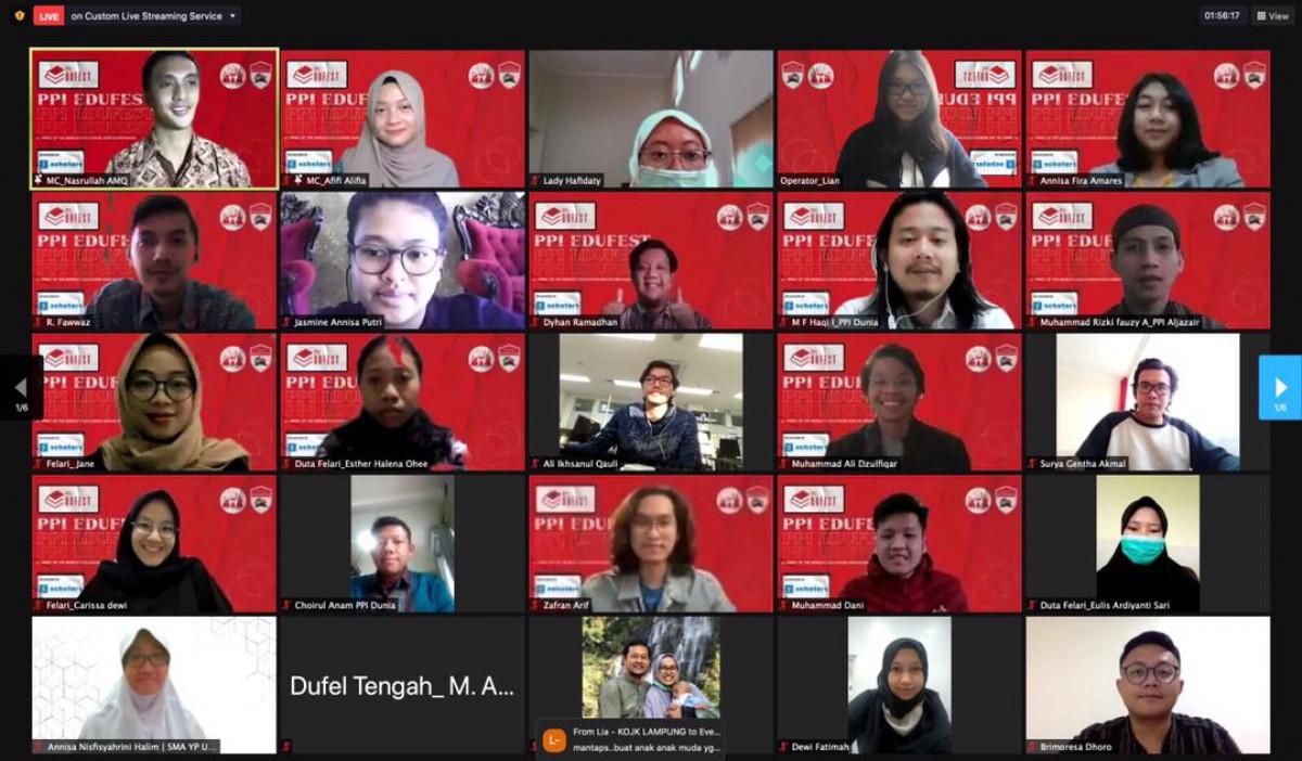 PPI Edufest, Pameran Pendidikan Luar Negeri Secara Virtual oleh PPI Dunia