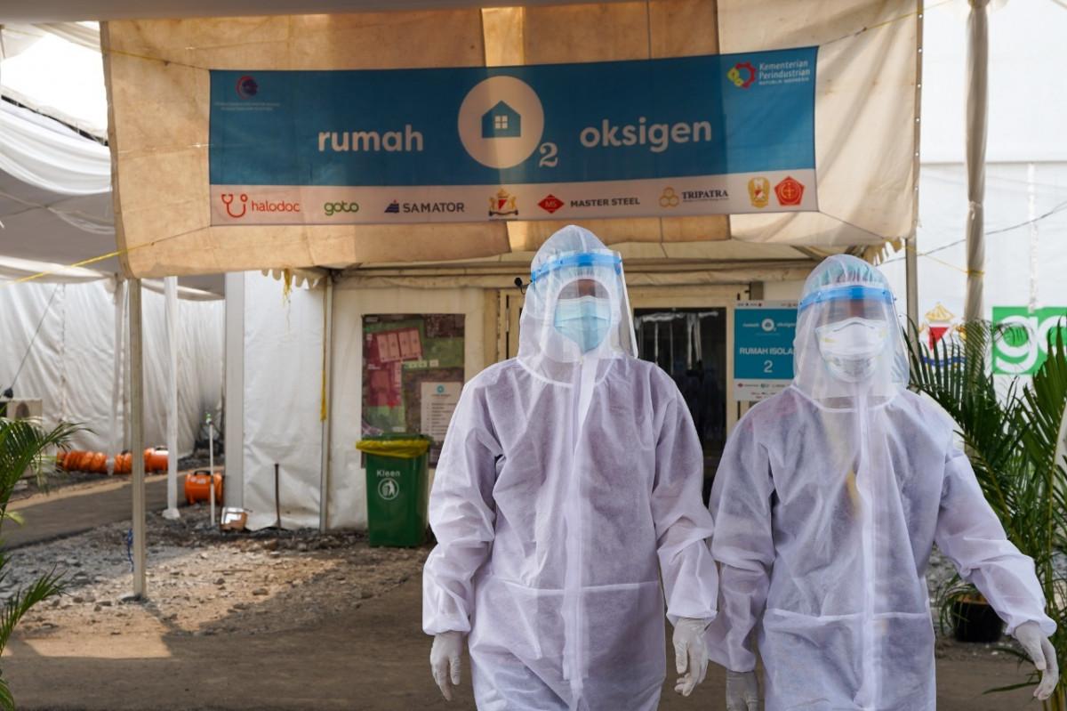 Rumah Oksigen Gotong Royong Resmi Beroperasi, Siap Tampung Pasien Bergejala Ringan