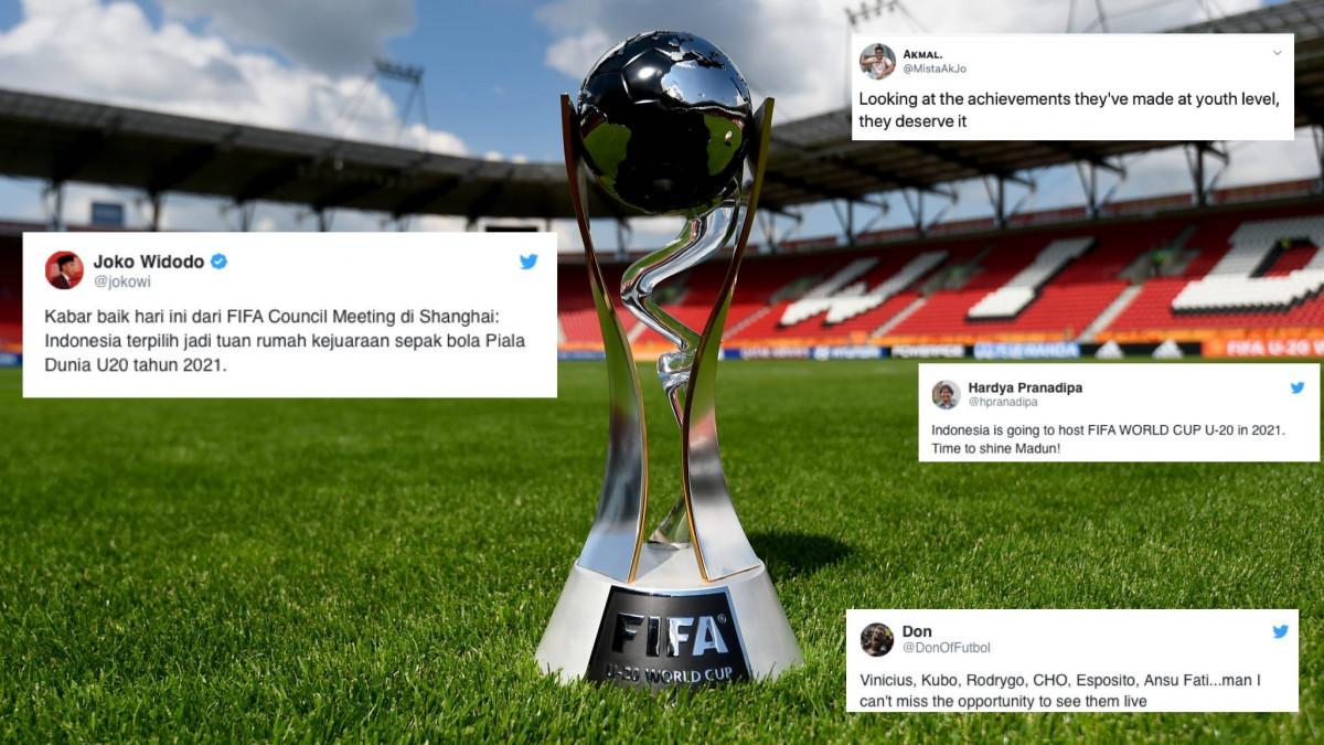 Selamat! Indonesia Tuan Rumah Piala Dunia U-20 2021