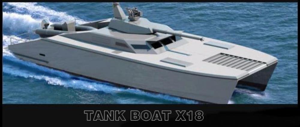 X18 Tank Laut Pertama di Dunia Buatan Indonesia