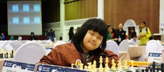 Samantha Edithso, Bocah 10 Tahun yang Raih Gelar Juara Dunia Catur
